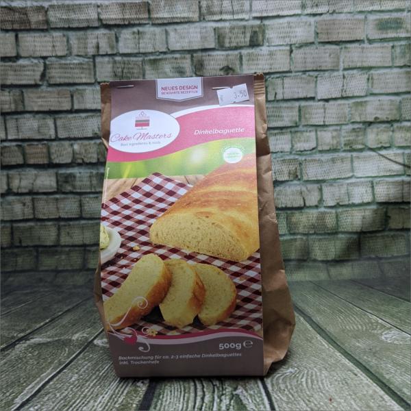 Dinkelbaguette-Brot-Backmischung-Baguettebackmischung-Torten-Tuning-Hilburghausen
