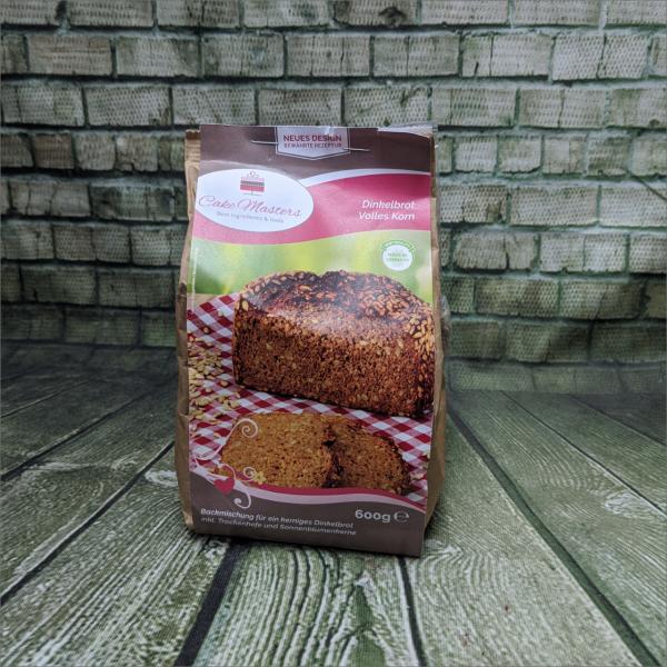 Dinkelbrot-Volles-Korn-Backmischung-Brotbackmischung-Torten-Tuning-Schleusingen