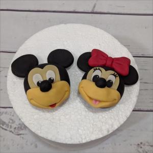 Tortendekration Micky und Minnie Minnie-Micky-Mouse-modellierte-Figuren-Fondant-Ilmenau-Torten-Kindergeburtstag-Tortendekor-Zuckerfigur-essbare-Figur-Torten-Tuning-Suhl-Meiningen-Coburg-Hildburghausen