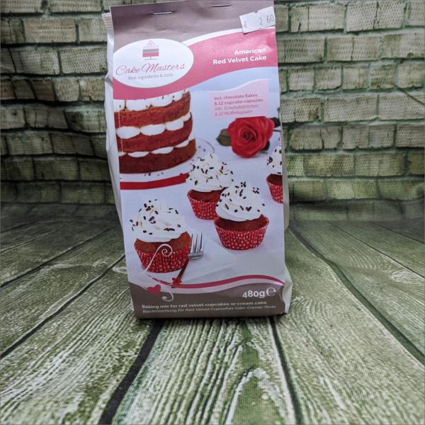 Red-Velvet-Cake-Backmischung-Teilchen-Geburtstagstorte-Hochzeitstorten-Geburtstagstorten-Torten-Tuning-Schleusingen