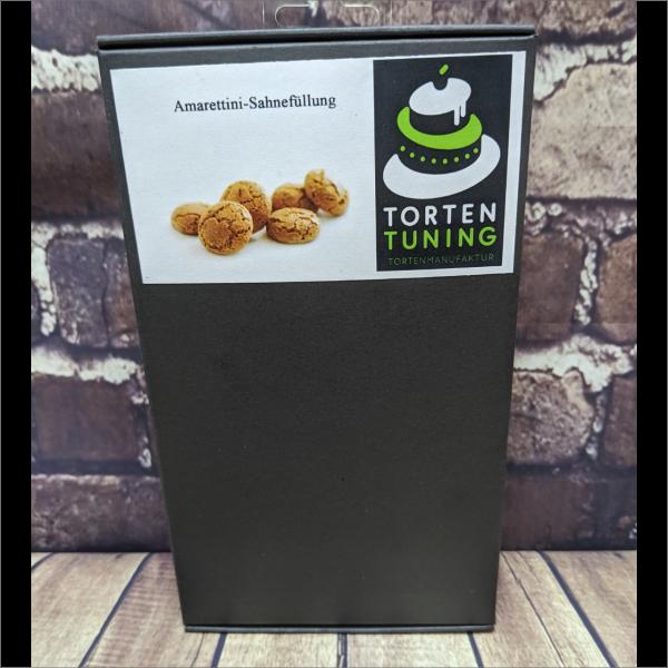 Tortenfüllung Amarettini Sahne Torten-Tuning-Backmischung-Amarettini-Sahne