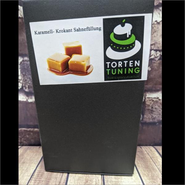 Tortenfüllung Karamell Krokant Sahne Torten-Tuning-Backmischung-Karamell-Krokant-Sahne