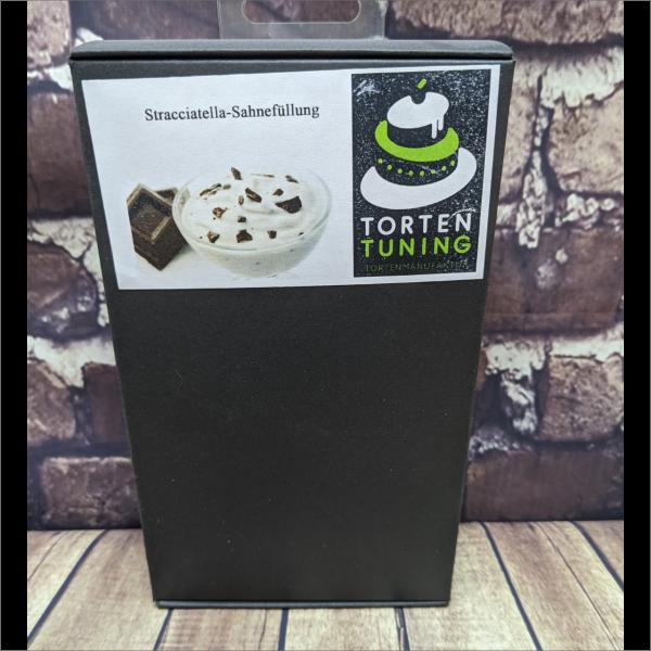 Tortenfüllung Stracciatella Sahne Torten-Tuning-Backmischung-Stracciatella-Sahne