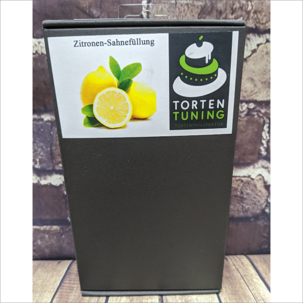 Tortenfüllung Zitronen Sahne Torten-Tuning-Backmischung-Zitronen-Sahne