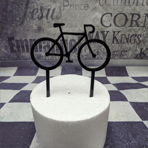 Cake Topper Fahrrad Torten-Tuning-Cake-Topper-Rennrad-Acryl-Erfurt-Gotha