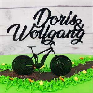 Cake Topper personalisiert E-Bike Torten-Tuning-Cake-Topper_E_Bike-mit-Namen_Schleusingen_Erfurt