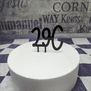 Cake Topper 29C Torten-Tuning-Cake-Topper_Geburtstagszahlen-29C_Breitungen_Schmalkalden