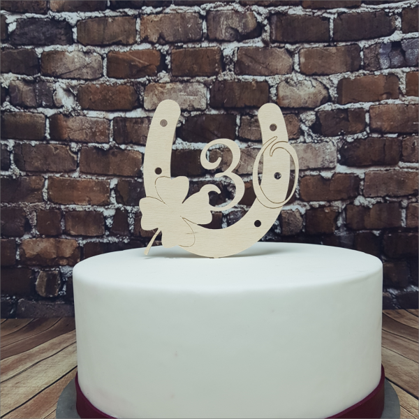 Torten-Tuning-Cake-Topper_Hufeisen_-mit-Kleeblatt-und-Zahl_Schleusingen_Erfurt