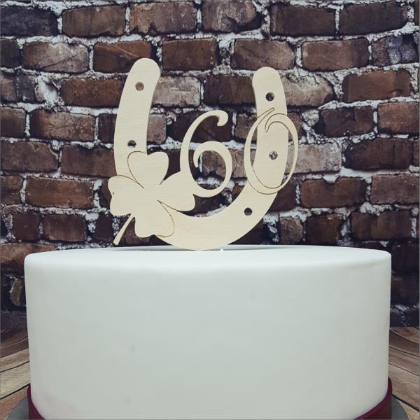 Cake Topper Hufeisen mit Zahl Torten-Tuning-Cake-Topper_Hufeisen_-mit-Kleeblatt-und-Zahl_Schleusingen_Ohrdruf