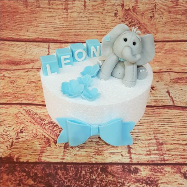 Tortendekoration It´s a Boy Dumbo Set Backzubehör backen Tortendekorieren Fondantfiguren Caketopper Lebensmittelfarben Hochzeitstorten Geburtstagstorten modellierte Figuren aus Fondant suhl