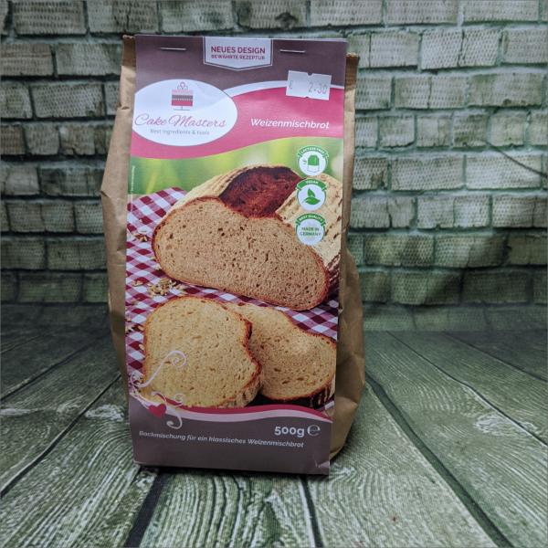 Weizenmischbrot-Backmischung-Brotbackmischung-Torten-Tuning-Schleusingen