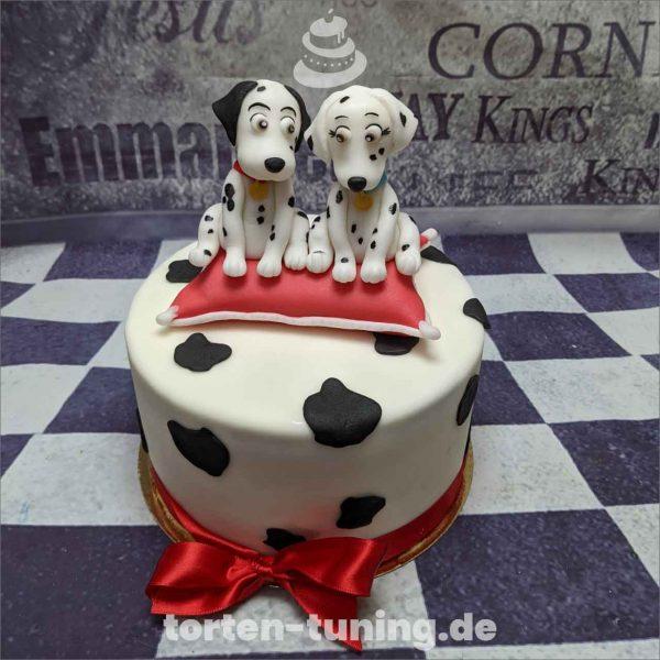 101 Dalmatiner Torte Torten Tuning Tortendekoration Geburtstagstorten Suhl Thüringen Backzubehörshop online bestellen Hochzeitstorte modellierte Figur