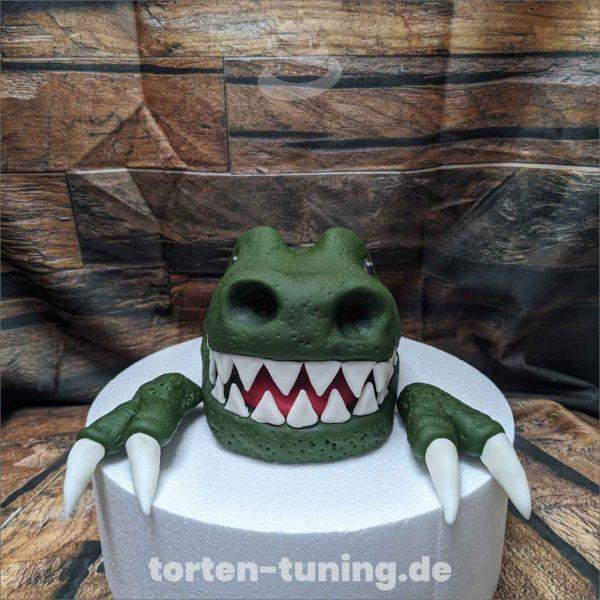 Dinosaurier modellierte Figur Fondantfigur Tortenfigur Torte Torten Tuning Geburtstagstorte Suhl Hochzeitstorte Kindertorten Babytorten Fondant on