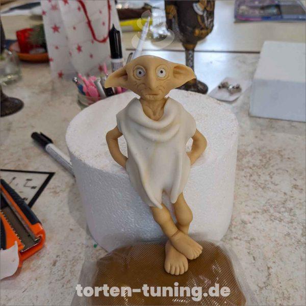 Dobby Hauself Harry Potter Dobby modellierte Figur Fondantfigur Tortenfigur Torte Torten Tuning Geburtstagstorte Suhl Hochzeitstorte Kindertorten Babytorten Fondant online