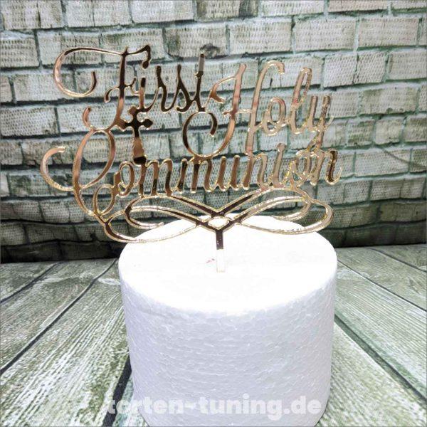 Cake Topper First Holy Communion 1. Geburtstag Torte Torten Tuning Tortendekoration Geburtstagstorten Suhl Thüringen Backzubehörshop online bestellen Backkurse modellierte Figuren Kindergeburtsta