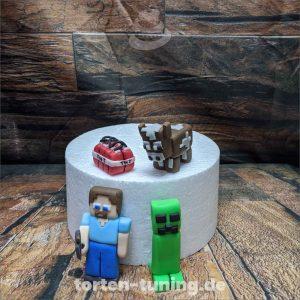 Minecraft Set Minecraft modellierte Figur Fondantfigur Tortenfigur Torte Torten Tuning Geburtstagstorte Suhl Hochzeitstorte Kindertorten Babytorten Fondant online