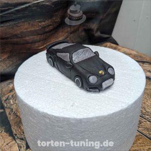 Porsche Tortenfigur Porsche Auto modellierte Figur Fondantfigur Tortenfigur Torte Torten Tuning Geburtstagstorte Suhl Hochzeitstorte Kindertorten Babytorten Fondant