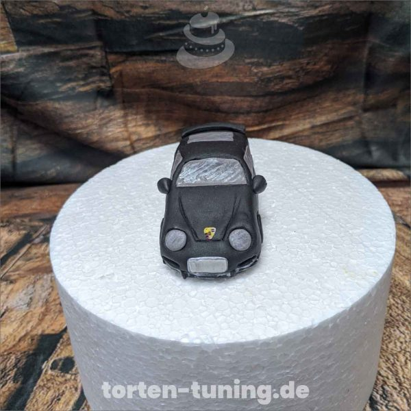 Porsche modellierte Figur Fondantfigur Tortenfigur Torte Torten Tuning Geburtstagstorte Suhl Hochzeitstorte Kindertorten Babytorten Fondant