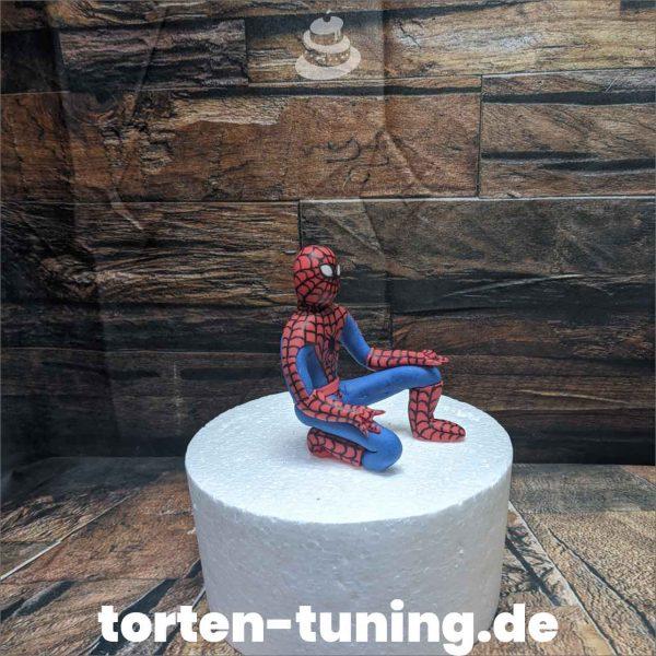 Spiderman Tortenfigur Spiderman modellierte Figur Fondantfigur Tortenfigur Torte Torten Tuning Geburtstagstorte Suhl Hochzeitstorte Kindertorten Babytorten Fondant online