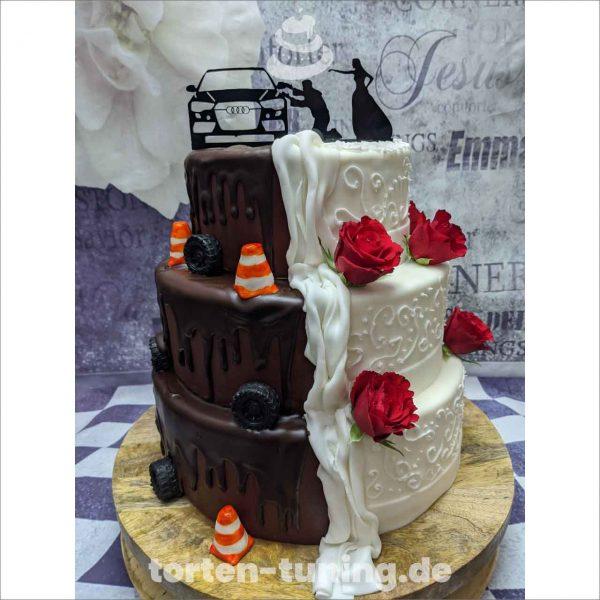 auto Torte Torten Tuning Tortendekoration Geburtstagstorten Suhl Thüringen Backzubehörshop online bestellen Hochzeitstorte modellierte Figur