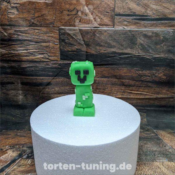 minecraft Creeper modellierte Figur Fondantfigur Tortenfigur Torte Torten Tuning Geburtstagstorte Suhl Hochzeitstorte Kindertorten Babytorten Fondant online
