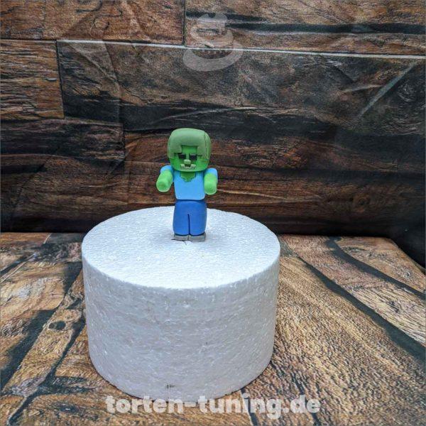 minecraft zombie modellierte Figur Fondantfigur Tortenfigur Torte Torten Tuning Geburtstagstorte Suhl Hochzeitstorte Kindertorten Babytorten Fondant online