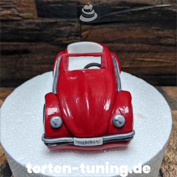 VW Käfer Micky&Minnie Tortenfigur roter vw käfer modellierte Figur Fondantfigur Tortenfigur Torte Torten Tuning Geburtstagstorte Suhl Hochzeitstorte Kindertorten Babytorten Fondant online