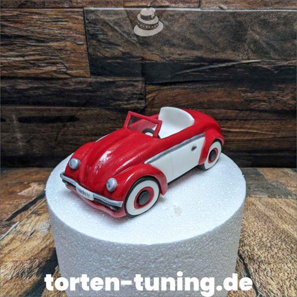 VW Käfer Micky&Minnie Tortenfigur vw Käfer modellierte Figur Fondantfigur Tortenfigur Torte Torten Tuning Geburtstagstorte Suhl Hochzeitstorte Kindertorten Babytorten Fondant online