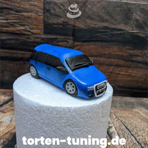 Audi Kombi modellierte Figur Fondantfigur Tortenfigur Torte Torten Tuning Geburtstagstorte Suhl Hochzeitstorte Kindertorten Babytorten Fondant online