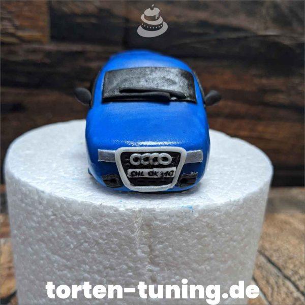 Audi modellierte Figur Fondantfigur Tortenfigur Torte Torten Tuning Geburtstagstorte Suhl Hochzeitstorte Kindertorten Babytorten Fondant online