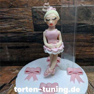 Ballarina rosa modellierte Figur Fondantfigur Tortenfigur Torte Torten Tuning Geburtstagstorte Suhl Hochzeitstorte Kindertorten Babytorten Fondant online