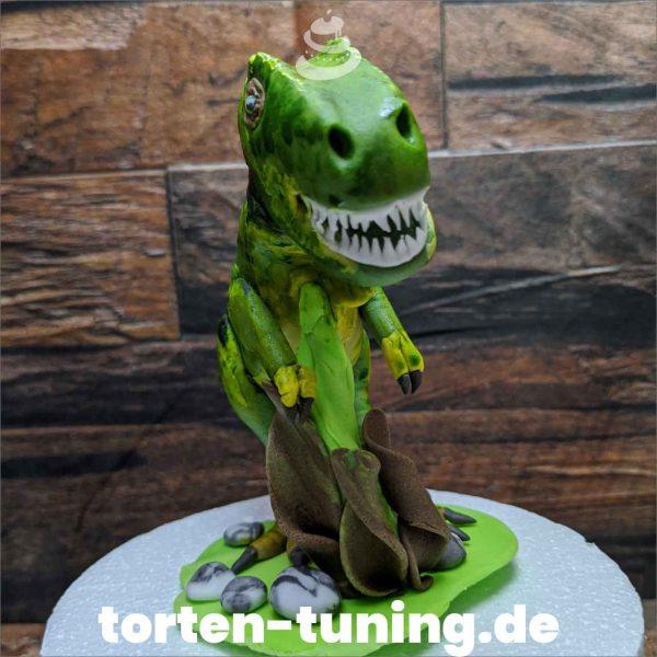 Dinosaurier Rex modellierte Figur Fondantfigur Tortenfigur Torte Torten Tuning Geburtstagstorte Suhl Hochzeitstorte Kindertorten Babytorten Fondant online