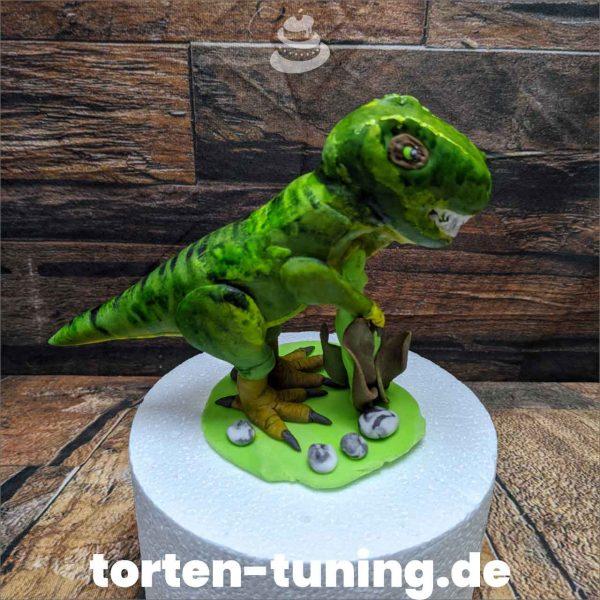 Dinosaurier Tyrannosaurus Rex modellierte Figur Fondantfigur Tortenfigur Torte Torten Tuning Geburtstagstorte Suhl Hochzeitstorte Kindertorten Babytorten Fondant online