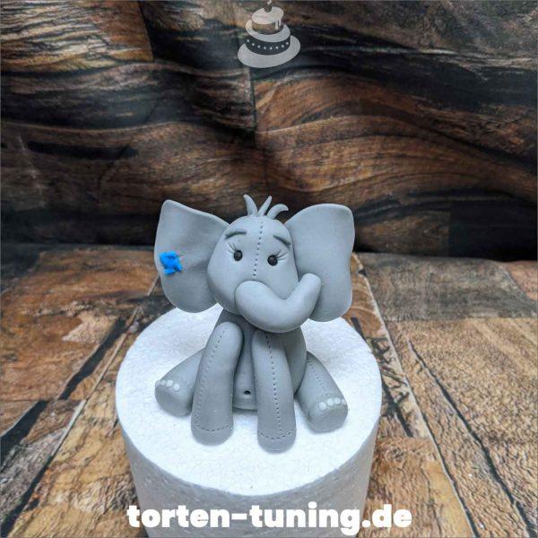 Elefant mit Pflaster modellierte Figur Fondantfigur Tortenfigur Torte Torten Tuning Geburtstagstorte Suhl Hochzeitstorte Kindertorten Babytorten Fondant online