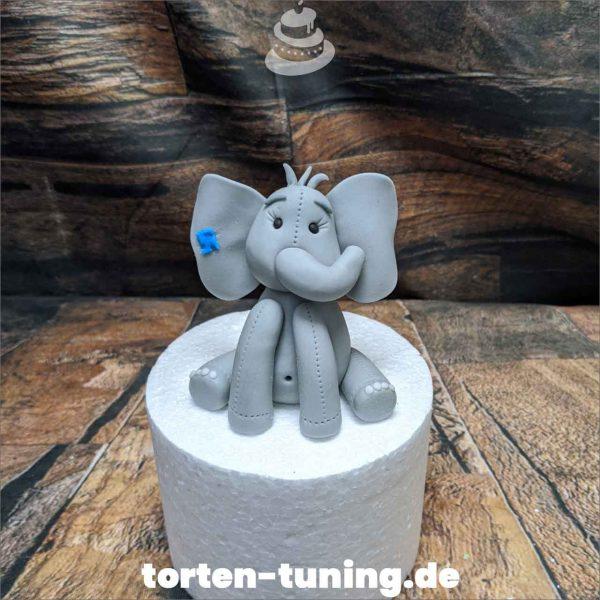 Tortendekoration Elefant