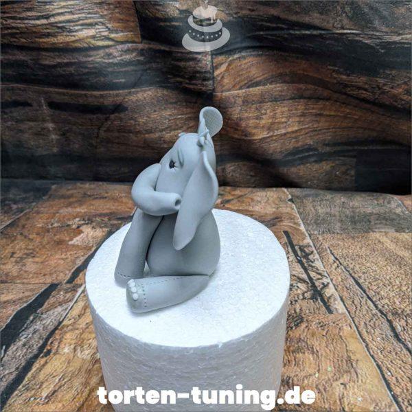 Elefant niedlich modellierte Figur Fondantfigur Tortenfigur Torte Torten Tuning Geburtstagstorte Suhl Hochzeitstorte Kindertorten Babytorten Fondant online