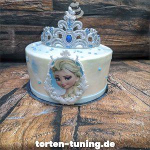 Tortenfigur Elsa Krone Diadem