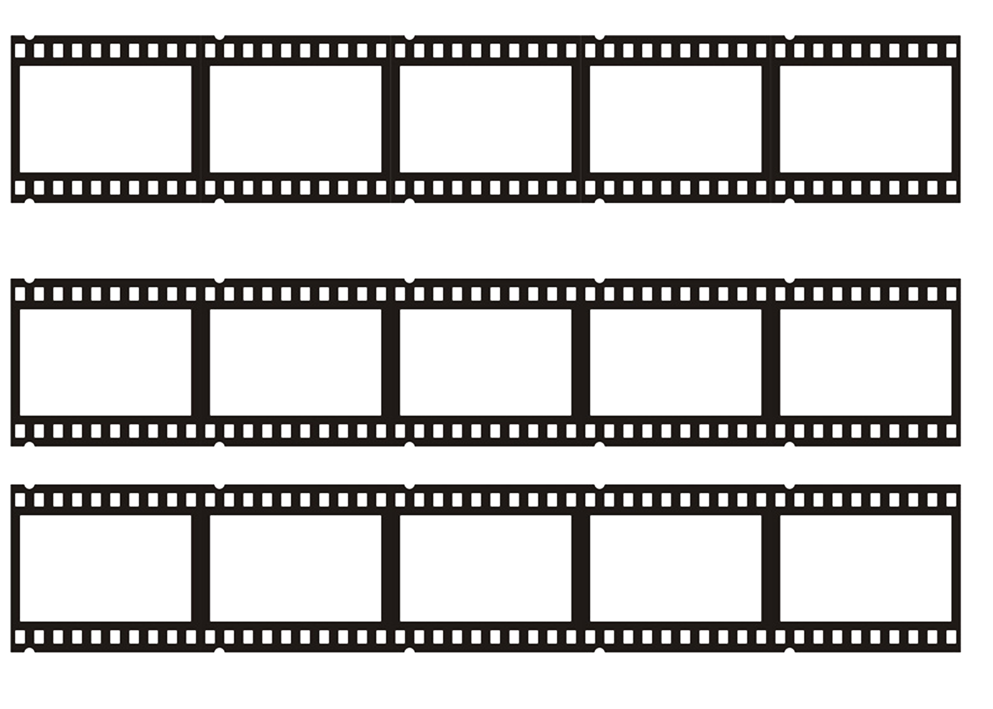 Filmstreifen Fotorolle Fotoband Lebensmitteldruck