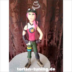 Tortenfigur Fortnite Bullseye