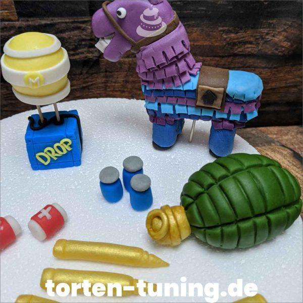 Fortnite Munition modellierte Figur Fondantfigur Tortenfigur Torte Torten Tuning Geburtstagstorte Suhl Hochzeitstorte Kindertorten Babytorten Fondant online