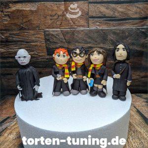 Tortenfiguren Harry Hermine Ron Snape Voldemort