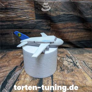 Tortenfigur Flugzeug