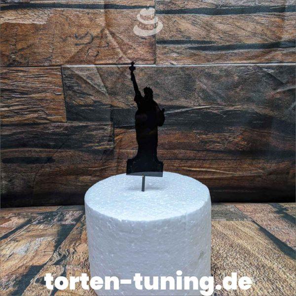 Cake Topper Freiheitsstatur USA modellierte Figur Fondantfigur Tortenfigur Torte Torten Tuning Geburtstagstorte Suhl Hochzeitstorte Kindertorten Babytorten Fondant online