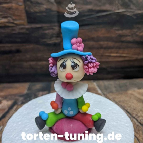 Clown Tortenfigur