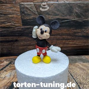 Micky Mouse Tortenfigur Micky Mouse modellierte Figur Fondantfigur Tortenfigur Torte Torten Tuning Geburtstagstorte Suhl Hochzeitstorte Kindertorten Babytorten Fondant online