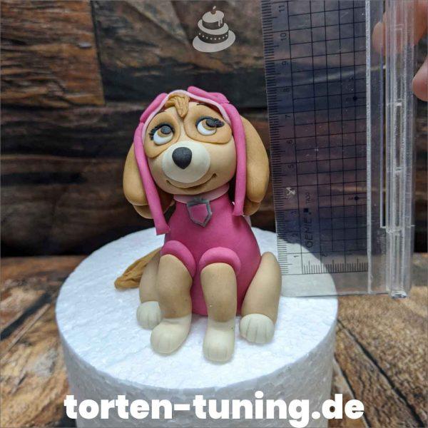 Paw Patrol rosa Hund modellierte Figur Fondantfigur Tortenfigur Torte Torten Tuning Geburtstagstorte Suhl Hochzeitstorte Kindertorten Babytorten Fondant online