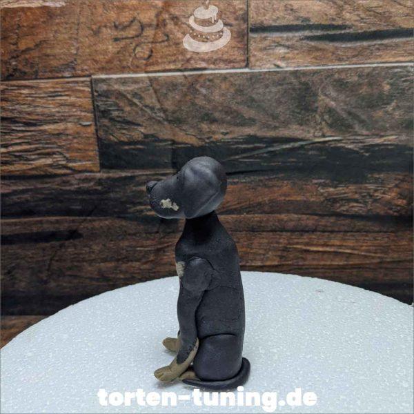 Rottweiler Hund modellierte Figur Fondantfigur Tortenfigur Torte Torten Tuning Geburtstagstorte Suhl Hochzeitstorte Kindertorten Babytorten Fondant online