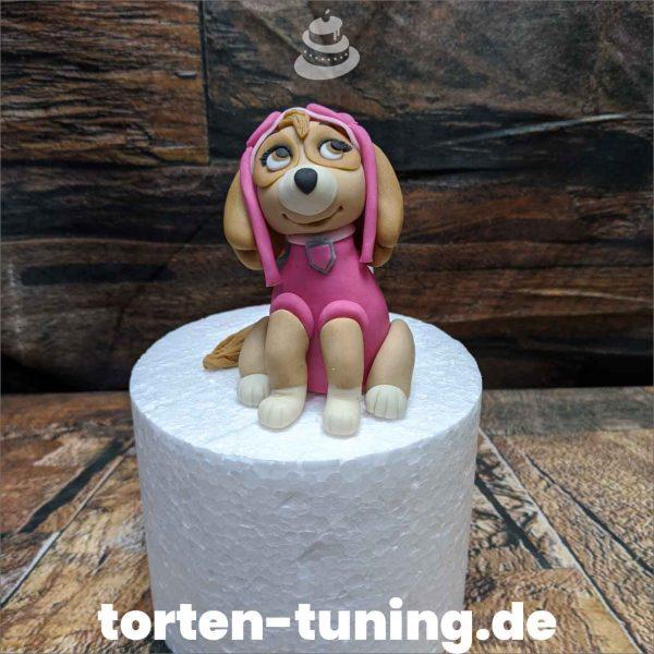 Skye modellierte Figur Fondantfigur Tortenfigur Torte Torten Tuning Geburtstagstorte Suhl Hochzeitstorte Kindertorten Babytorten Fondant online