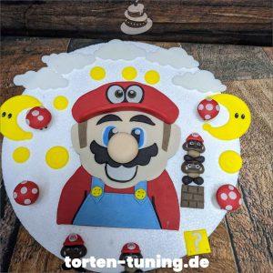 Tortendekoration Super Mario