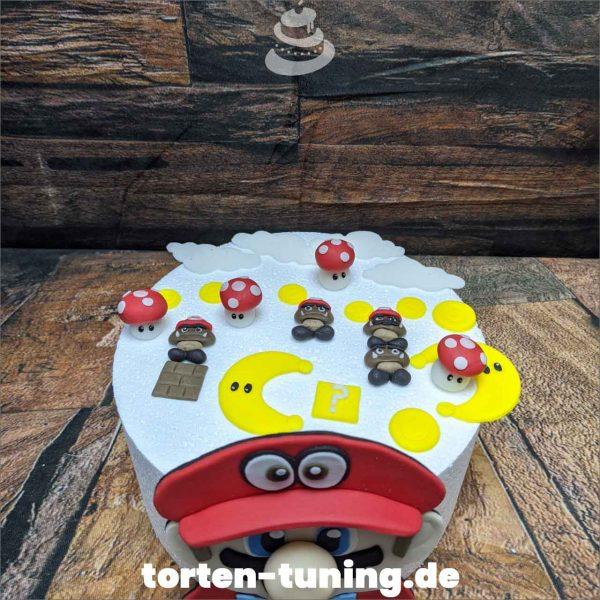 Super Mario dekor modellierte Figur Fondantfigur Tortenfigur Torte Torten Tuning Geburtstagstorte Suhl Hochzeitstorte Kindertorten Babytorten Fondant online